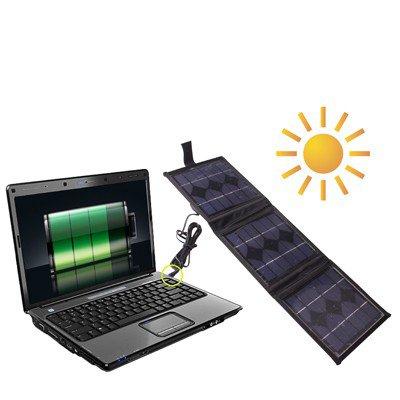 Luoshan Portable 3 x 2.5 W Panel Solar-Cargadores de batería multifuncionales, Puede Cargar PC con Enchufe de CC