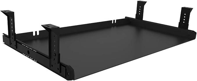 66 opinioni per FRMSAET Cassetto per Tastiera Vassoio Interamente in Metallo Materiale 53 cm/ 60