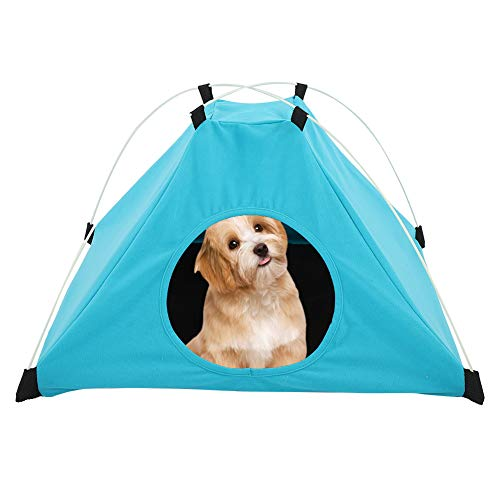 Yivibe Carpa portátil para Perros, casa para Cachorros cómodamente Plegable, para Mascotas
