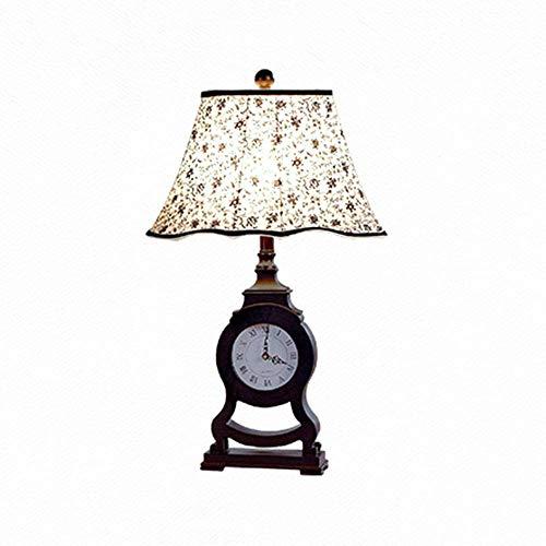 N/Z Home Equipment Tischlampe Uhr Tischlampe Wohnzimmer Schlafzimmer Nachttischlampe Klassisches Wohnzimmer Hotel Tischlampe