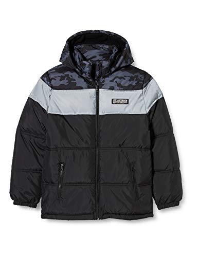 NAME IT Jungen NKMMILIUS Puffer Jacket Jacke, Black, 152