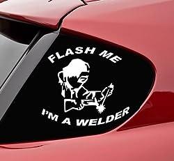 Welder bumper sticker gift ideas for welders