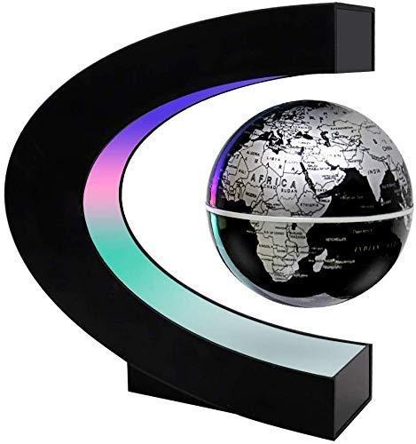 Globo Flotante de levitación magnética suspendido misteriosamente en el Aire Mapa del Mundo para decoración de Escritorio Grandes Padres Estudiantes Maestros Cumpleaños para Hombres Globo del Mundo