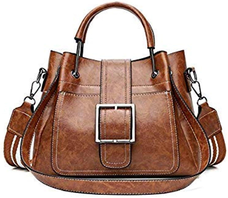 Bloomerang Women Messenger Bag Vintage Belts Shoulder Bags Women Handbags Designer high Quality PU Leather Ladies Handbags Sac a Main color Brown