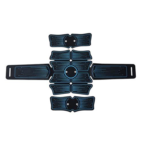 Shapewear Electroestimulador Muscular Abdominale Cinturón, Músculos Abdominales, 6 Modos de Simulación, 10 Niveles Diferentes, para Abdomen/Cintura/Pierna/Brazo