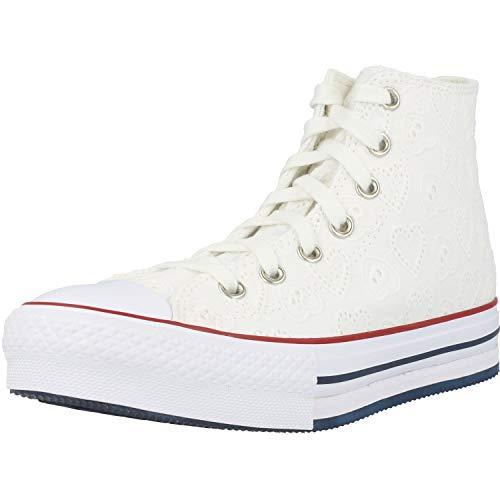 Converse Chuck Taylor All Star Eva Lift Hi Love Ceremony Blanco/Azul (White/Midnight...
