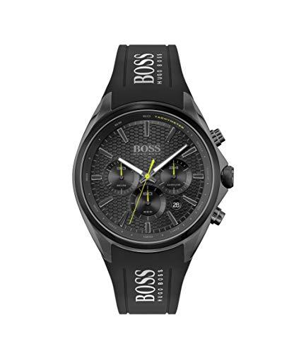 Hugo BOSS Reloj Cosa análoga para de los Hombres de Cuarzo con Correa en Silicona 1513859