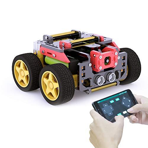 Adeept AWR 4WD WiFi Smart Robot Car Kit...