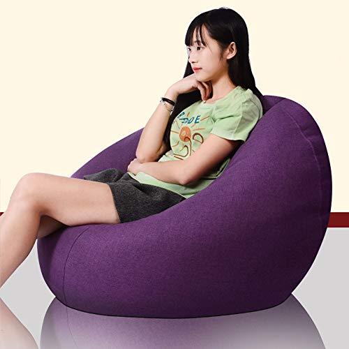 RH-ZTGY Bean Bag Stuhl, Großer Sitzsack Stuhl Für Innen- Und Außenanwendungen - Adult Highback Beanbag - Schöner Beanbags,6,60 * 75CM