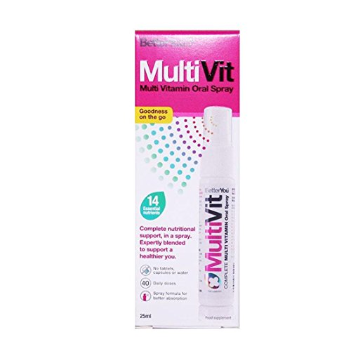 Better You | MultiVit Multivitamin Spray | 1 x 25ml