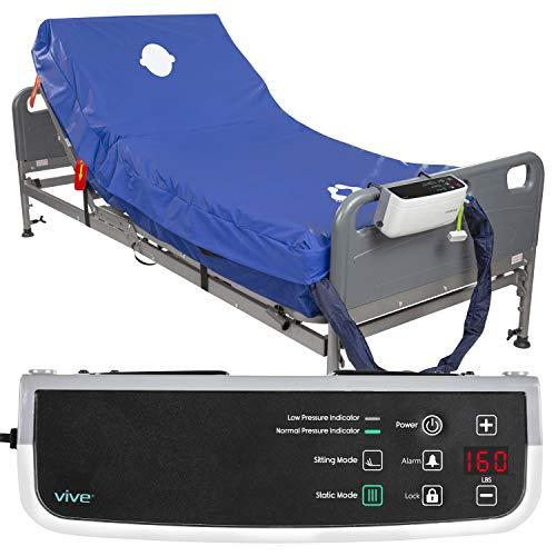 Vive 8' Alternating Pressure Mattress - Low Air Loss Hospital Replacement Mattress - Medical Bed...