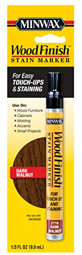 Minwax 63487000 Wood Finish Stain Marker, Dark Walnut