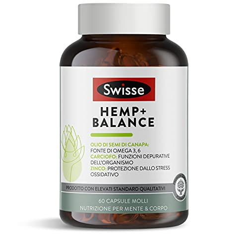 Swisse Hemp+ Balance 60 comprimidos