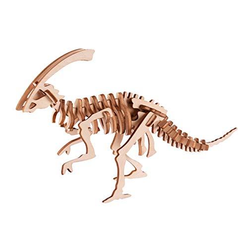XINR Rompecabezas 3D 31 Piezas DIY Kits De Modelos De Dinosaurios Juguetes para Niños Regalos Ensamblaje De Madera Adolescentes Rompecabezas