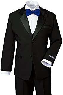 Spring Notion Boys' Classic Fit Tuxedo Set, No Tail