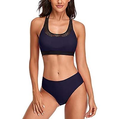 Amazon Promo Code for Womens Two Piece Bikini Set Scoop Neck Crop 27092021084017