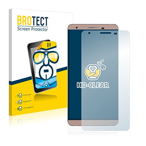 BROTECT Schutzfolie kompatibel mit Cubot X15 (2 Stück) klare Bildschirmschutz-Folie