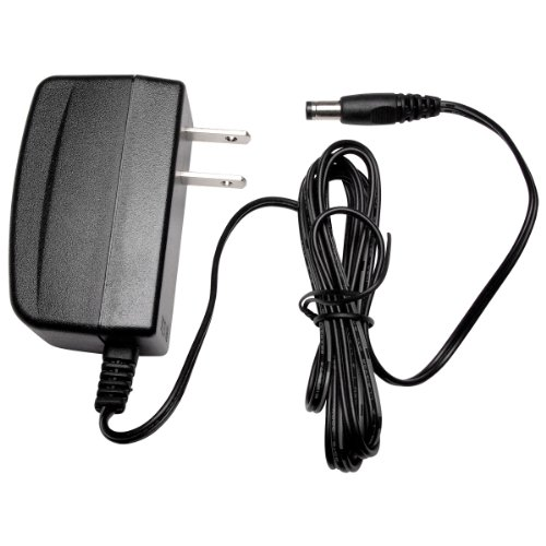 R-Tech JC-Tech DC12V 1A Ul-Listed Switching Power Supply Adapter for CCTV - 5 Pack - Black