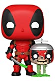 Funko Pop! Marvel Zombies - Deadpool with Headpool #667 Exclusive