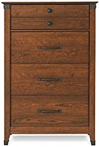 Child Craft Redmond Collection Ready-to-Assemble 4 Drawer Chest - Coach Cherry
