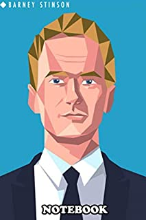 Notebook: Barney Stinson , Journal for Writing, College Ruled Size 6