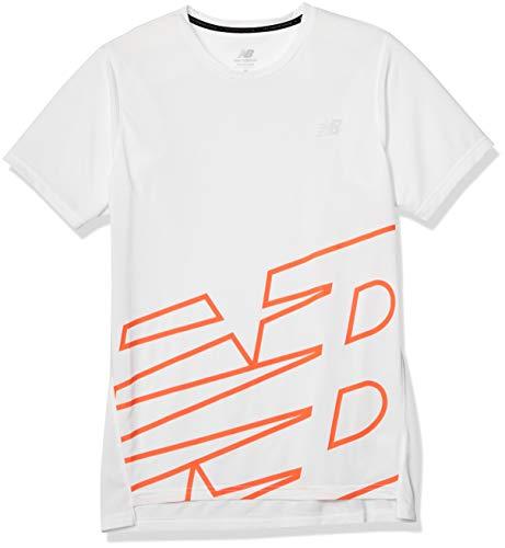 [ニューバランス] ショートスリーブ Tシャツ AMT93181 メンズ WHP(ホワイトプリント) L