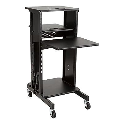 Norwood Commercial Furniture Laptop Caddy Cart Presentation Station