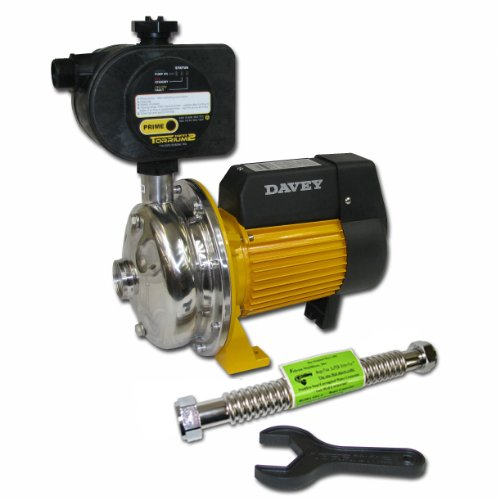 Davey Water Products BT14-30T2-USA Home Pressure Booster Pump with Torrium II Controller