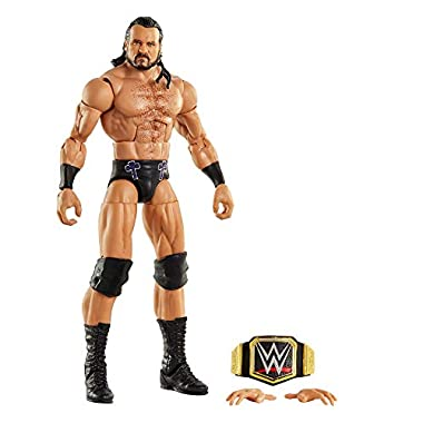 WWE Top Picks Elite Drew McIntyre 6-inch Action Figure with Deluxe Articulation for Pose and Play, Life-like Detail…