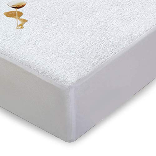 Comfortnights Waterproof Terry Towelling mattress protector King 150 x 200 x 32 cms