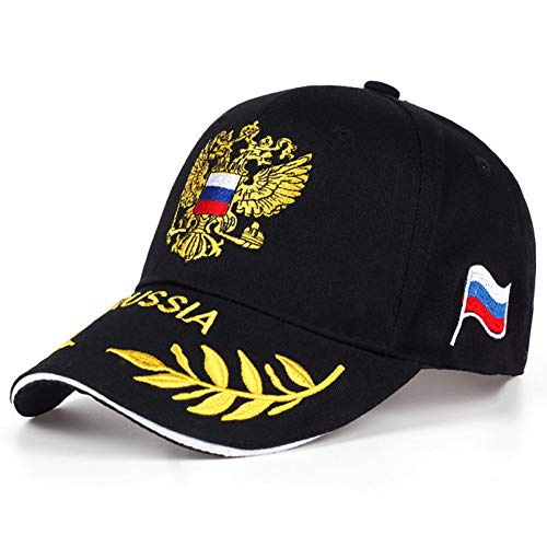 KUANGLANG Russian Flag Baseball Cap Male Female Golden Double-Headed Hawk Snapback Seasons Casual Bone Hats Men Women