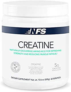 NF Sports Micronized Creatine – Naturally-Occurring Amino Acid For Improving Strength & Reducing Muscle Fatigue -100% Sati...