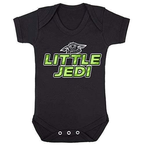 Baby Yoda Little Jedi - Baby korte mouw Onesie Bodysuit Babygrow Romper Vest
