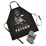 Funko UT-SW06423 Star Wars Apron and Oven Glove Set, Polyester, Multicolour, One size