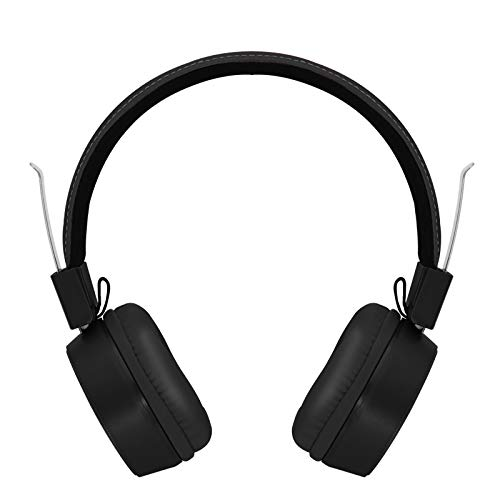 Auriculares Con Altavoz De Subgraves Montados En La Cabeza Con Micrófono 3,5...