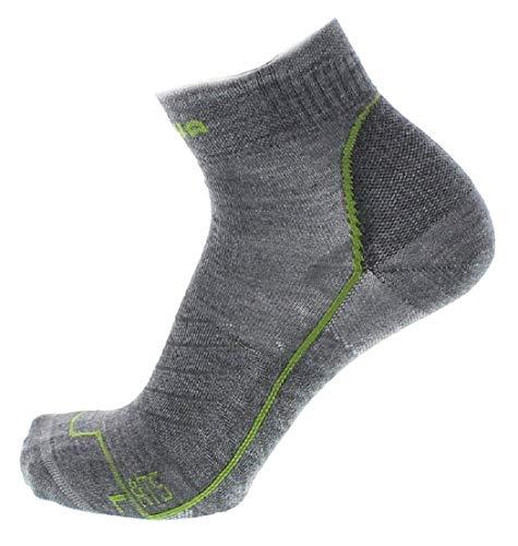 Lowa ATS Grau, Merino Socken, Größe EU 45-46 - Farbe Silbergrau