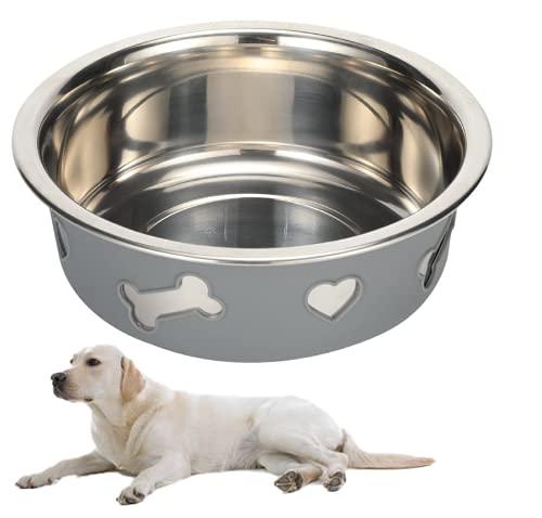jaosn Cuenco para gatos y perros, con soporte, de cerámica, tamaño grande (Love XL)