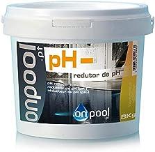 Onpool - Reductor/Minorador de pH- 8 Kg para Piscina - Especialmente formulado para Reducir el pH de su Piscina Cuando está por Debajo de los valores de Seguridad