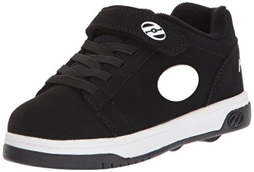 Heelys Kids' Dual up X2 Sneaker (13 M US Little Kid, Hot Pink/White/Hearts)