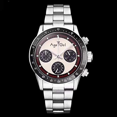 GFDSA Automatische horloges Luxe heren Automatisch mechanisch zelfopwindend horloge Vintage eeuwigdurend Paul Newman Saffier Roestvrij stalen horloges Bruin leer
