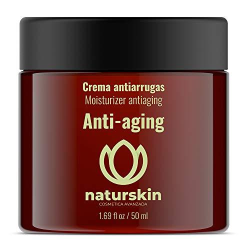 Crema facial Antiarrugas día y noche — Antimanchas, Antiarrugas, Anti-edad, Hidratante — Rejuvenece tu piel, nutre y repara — Para todo tipo de pieles — 50 ml — 100% natural