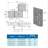 ドア用金物 内閣ロックドアロック耐久性のあるヒンジハンドル電気キャビネットドアロックヒンジ ヒンジ (Size : CL229-2B-Z)