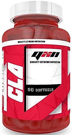 QXN New CLA 90 Cápsulas Softgels | Suplemento Quemagrasas con Ácido Linoleico Conjugado, Favorece Crecimiento Masa Muscular, Efecto Antioxidante, ...