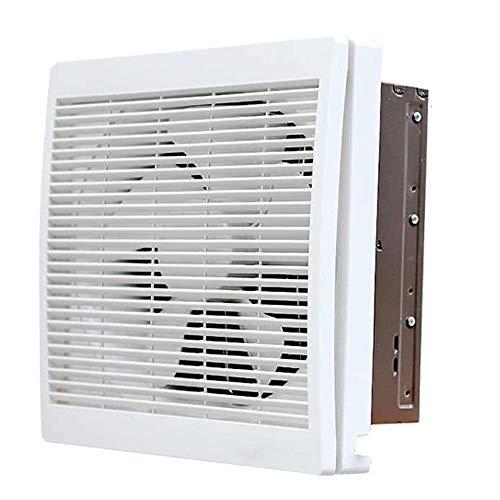 LXZDZ Ventilador de escape para el hogar, baño, inodoro, cocina, ventilador de bajo ruido, extractor de pared, tubo de escape, ventilador
