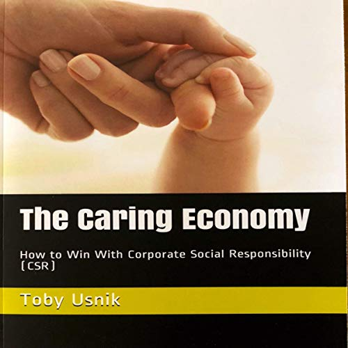 The Caring Economy audiobook cover art