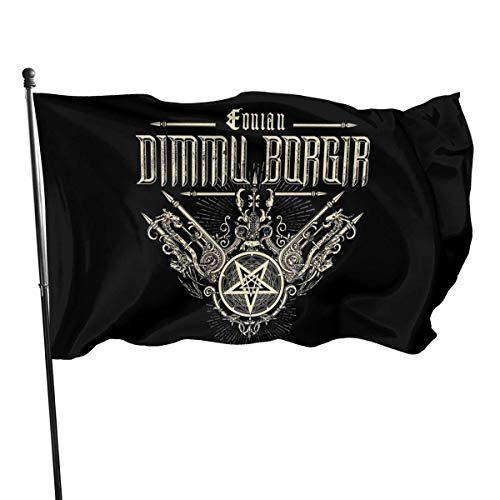HGHGH Dimmu Borgir Garden Flag Bandera al Aire Libre Banner Foot Flag Farm Banner 3X5 Ft