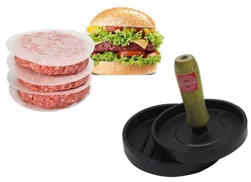 Olrada Aluminum Hamburger Patty Burger Grill Press Mold