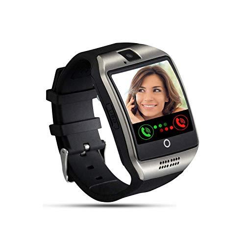 Tipmant Smartwatch Orologio Fitness Uomo Donna Bambini Smart Watch con SIM Card Slot Fotocamera Contapassi Cronometro Fitness Tracker Orologio Telefono per Samsung Huawei Xiaomi Android