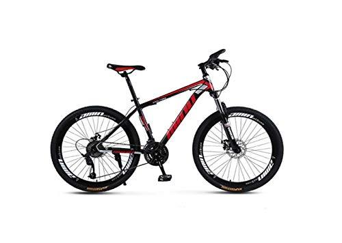 Mountain Bike Adulto Mountain Bike 26 Pollici 30 Velocità Una Ruota Fuoristrada a Velocità Variabile Ammortizzatore Uomini e Donne Bicicletta Bicicletta,A,36 velocità