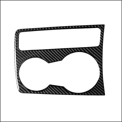 Piezas de automóviles para Audi A4 A5 Q5 B8 2008-2017 Car-stying Recorte Copa Bloque De Soporte De La Etiqueta Engomada De La Cubierta Verdadera De Carbono Accesorios Fibra Decoración